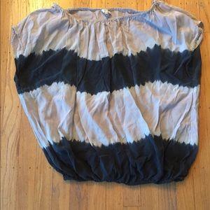 Women's blouse by Joie size M, great stripes!